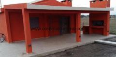 Casa Dique Los Molinos Roja